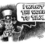 Taxes, the wind from America
