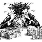 Debt headache